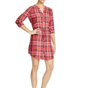 SOFT by Joie Cassina Plaid Rayon Dress